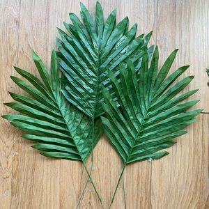 NEW Faux Palm Fronds!